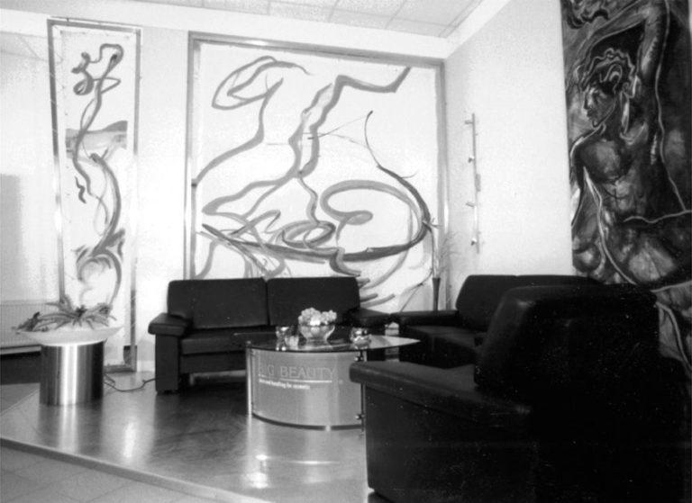 Innenraumgestaltung - Big Beauty-Laden